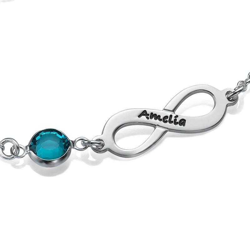 Bracelet de pierre de taille Infini - 1