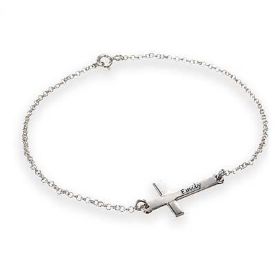 Bracelet Croix Horizontale - 1