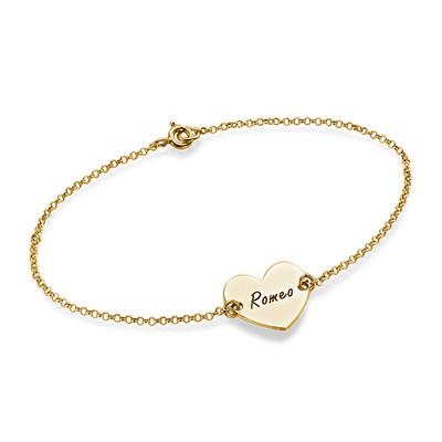 bracelet coeur mon collier prenom