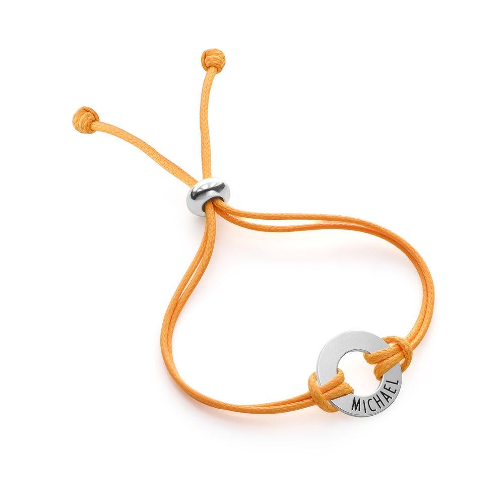 Bracelet cordon ID pour enfants en argent sterling - 2