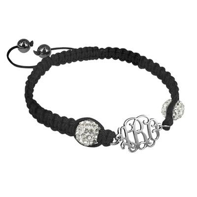 Bracelet Monogramme Cordon Personnalisé - 1