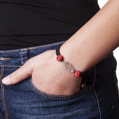 Bracelet Monogramme Cordon Personnalisé - 3