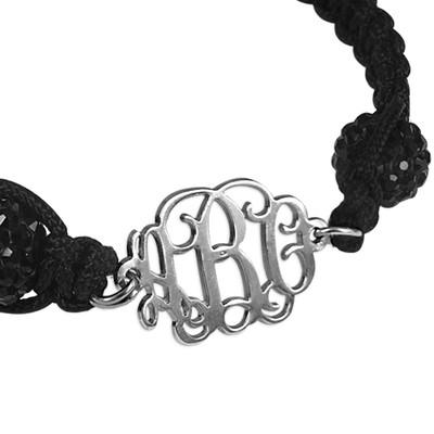 Bracelet Monogramme Cordon Personnalisé - 4