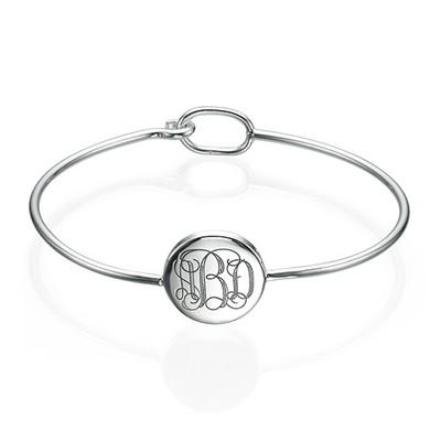 Bracelet Monogramme  rond