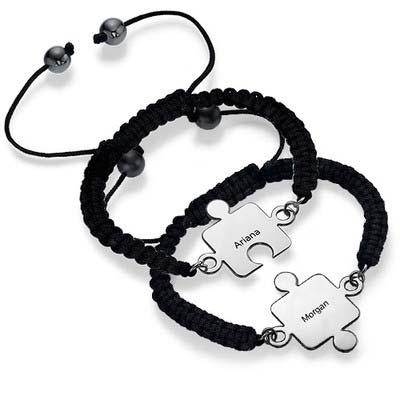 Bracelet Puzzle Meilleurs Amis en Argent - 1