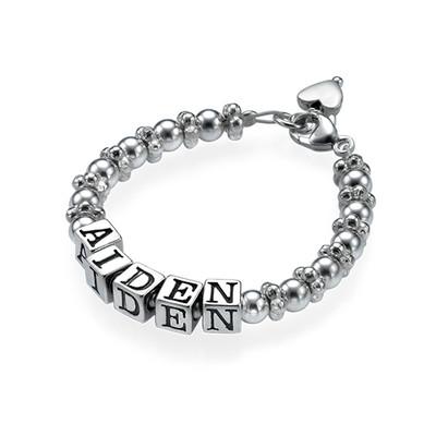 Bracelet Baptême Argent Classique