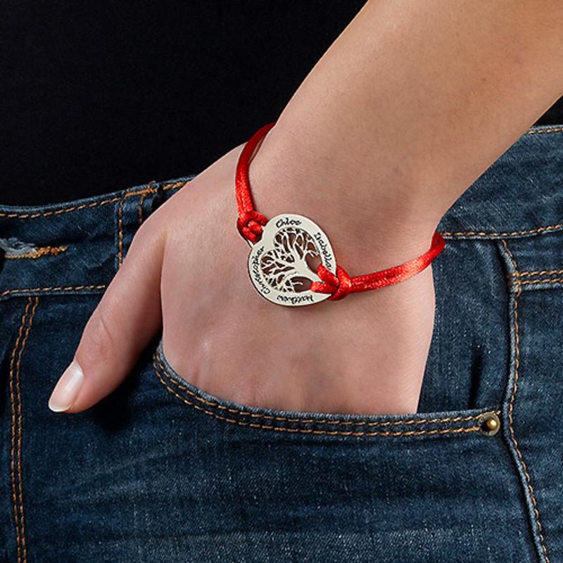 Bracelet Cœur Arbre de Vie en Argent - 2