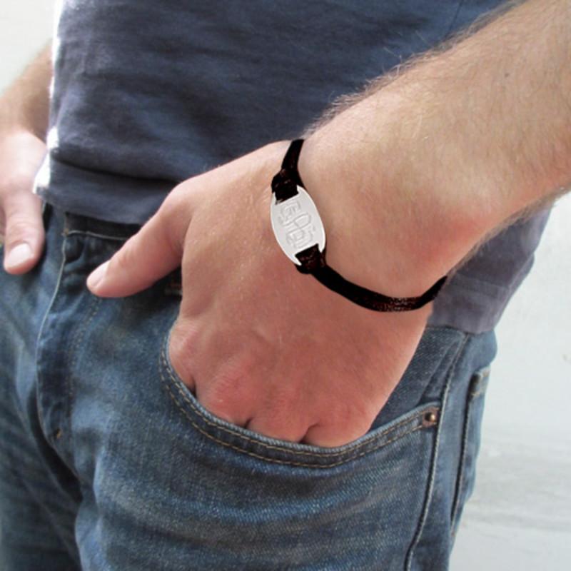 Bracelet Monogramme gravé - 3