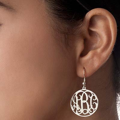 Boucle d'oreille Arabesque Personnalisée - 1