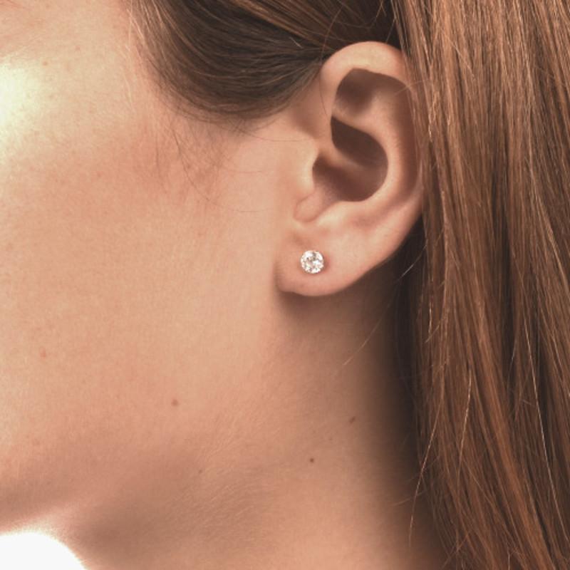 Boucles d'oreilles en Zircon cubique - 1