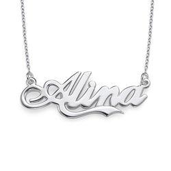 Collier Personnalisé avec Prénom inspiré par le style Coca Cola product photo