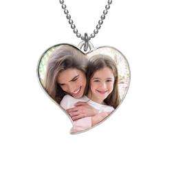 Collier Pendentif Cœur avec Photo photo du produit