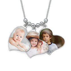 Collier photos multiples Noir&Blanc photo du produit