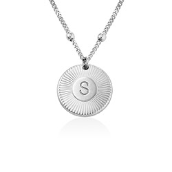 Collier Initiale Rayos en Argent product photo