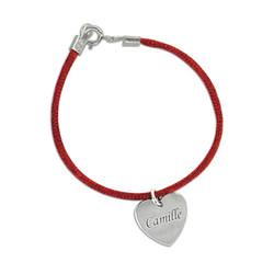Bracelet Personnalisable avec Pendentif gravé photo du produit
