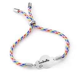 Bracelet cordon nuage en argent sterling photo du produit
