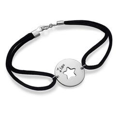 Bracelet Étoile Découpée en Argent photo du produit