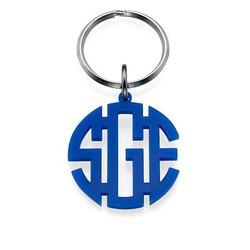 Porte-clés Monogramme Bloc Couleur photo du produit