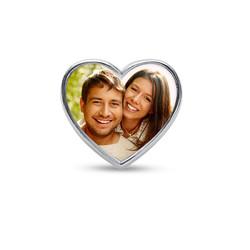 Charm Cœur avec photo photo du produit