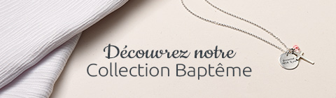 Bijoux de Baptême Personnalisés Pour Bébé