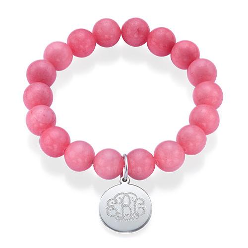 Bracelet de Perles Monogramme