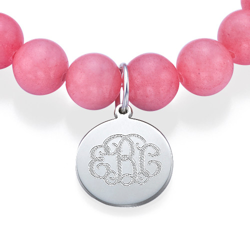 Bracelet de Perles Monogramme - 1