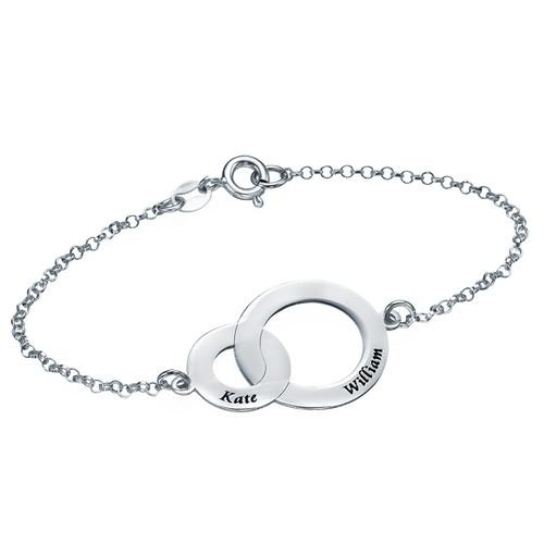 Bracelet Cercle croisés Eternité