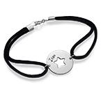 Bracelet Étoile Découpée en Argent