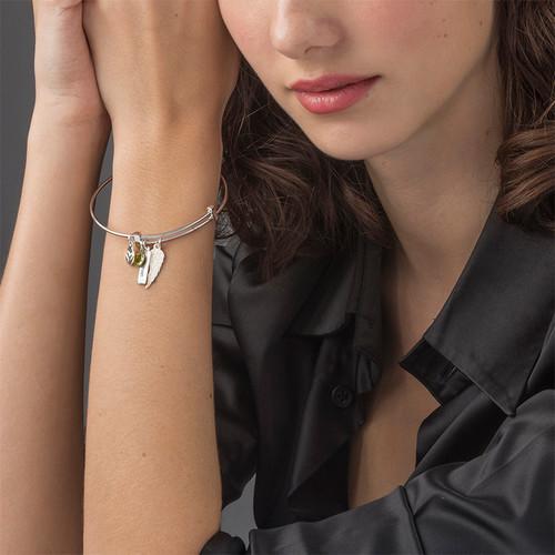 Bracelet Jonc « Aile d'Ange » - 2