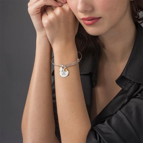 Bracelet Jonc avec Charms - 2