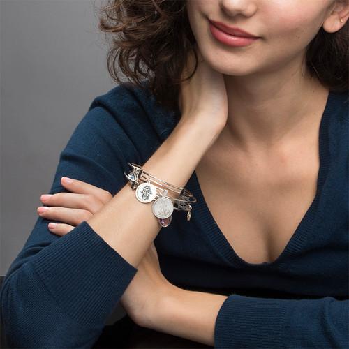 Bracelet Jonc avec pendentif Main de Fatma - 4