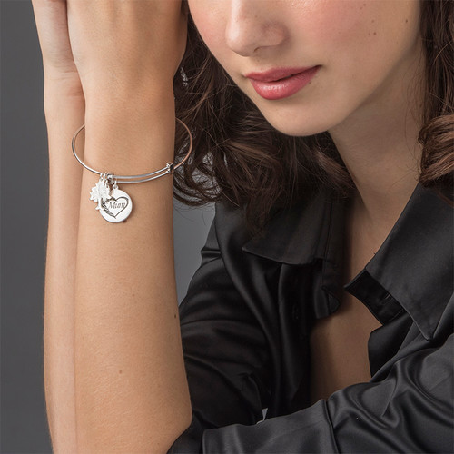Bracelet Jonc pour Maman - 2