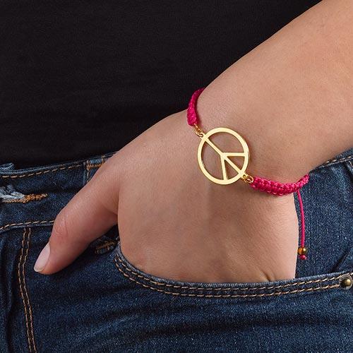 Bracelet Peace Cordon - 2