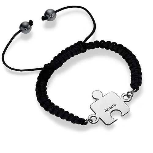 Bracelet Puzzle Meilleurs Amis en Argent - 2