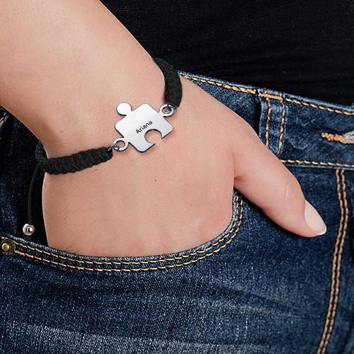 Bracelet Puzzle Meilleurs Amis en Argent - 4