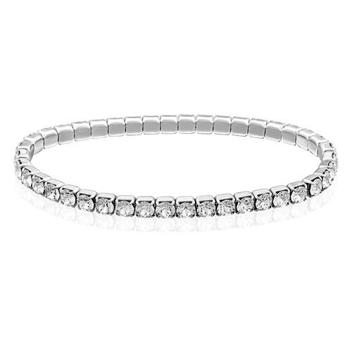 Bracelet Tennis avec des cristaux  Swarovski