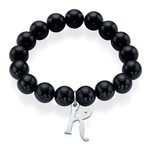 Bracelet de Perles avec Initiale