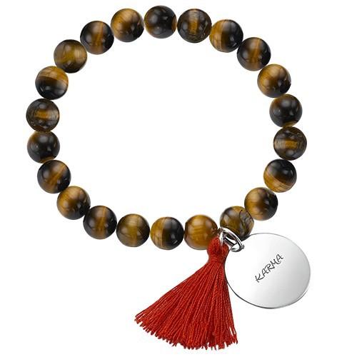 Collection Yoga- Bracelet de Perles Fleur de Lotus - 2