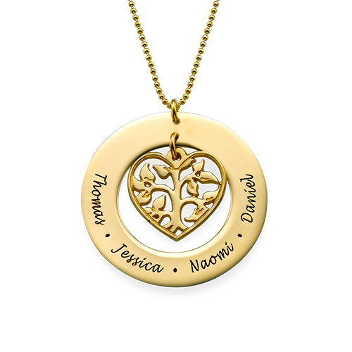 mon collier prenom arbre de vie