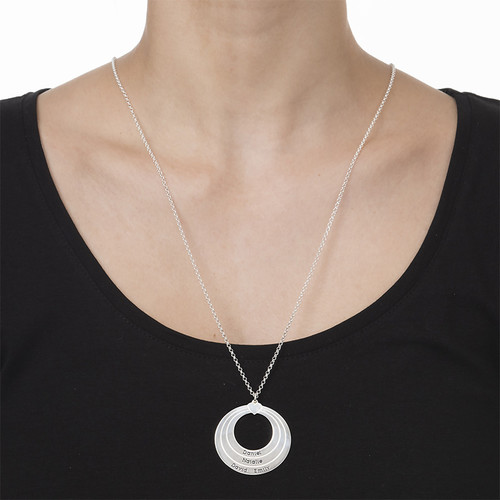 Collier Cercle Famille - 1