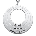 Collier Cercle Famille