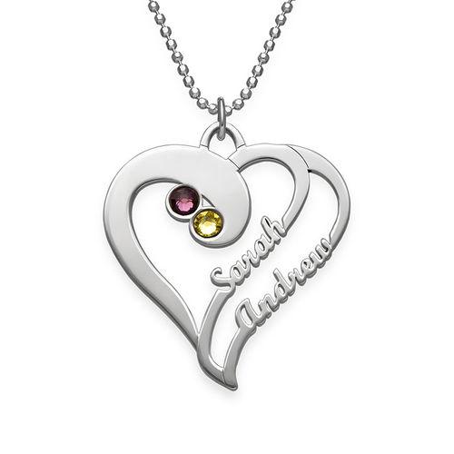 Collier Deux Cœurs Unis pour Toujours - Collection Amour Eternel