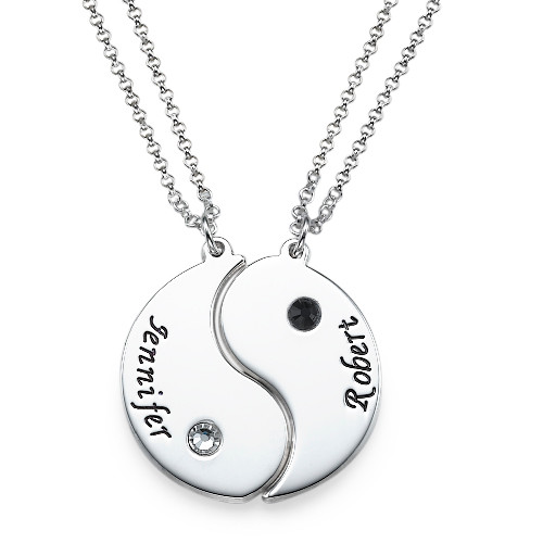 collier ying yang pour 2