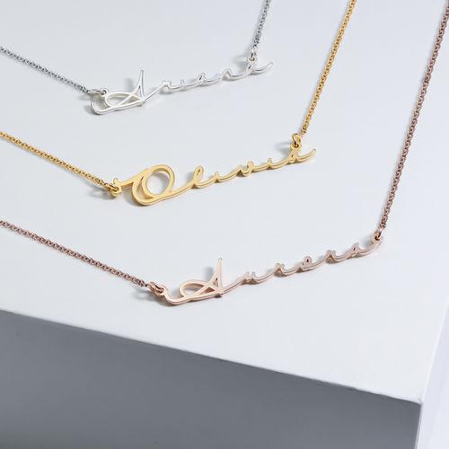 Style Signature - Collier avec prénom - Collection Nouvelle Génération - 2