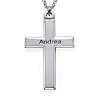 Croix personnalisé en argent