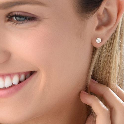 Boucles d'oreilles en Or massif 10Cts - 1