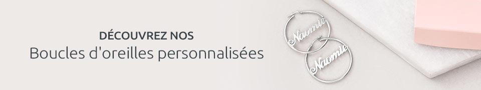 BOUCLES D'OREILLES PERSONNALISÉES