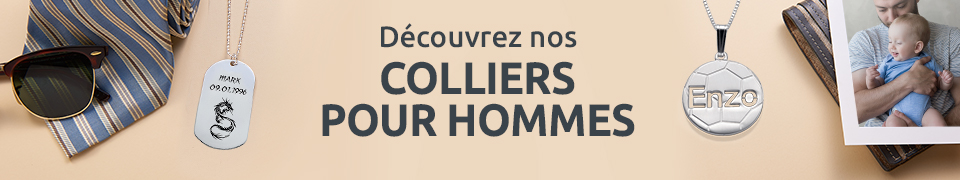 Colliers pour Homme