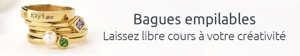 Bagues Empilables