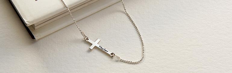 Collier Croix Personnalisée